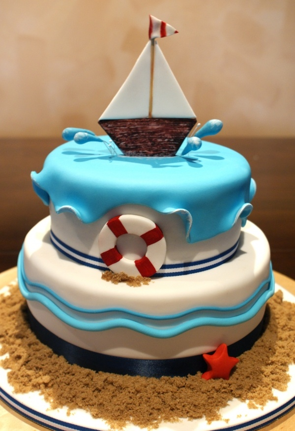 1000 Ideas About Anchor Birthday Cakes On Pinterest