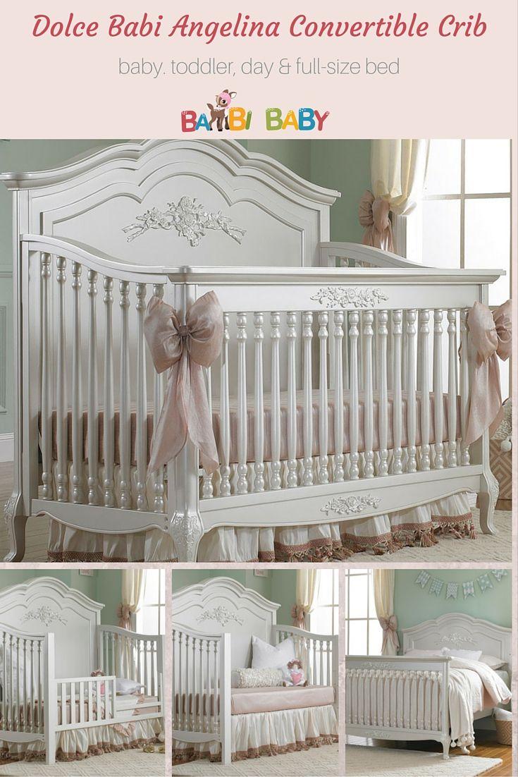 17 Best Ideas About White Cribs On Pinterest Nurseries