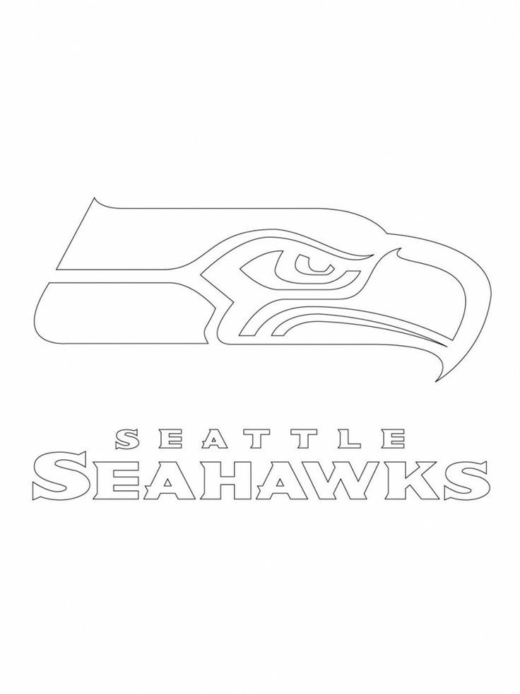 seahawks printable logo  google search  projects to try