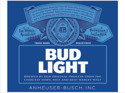 New Look I Love The Crest Bud Light By Ian Brignell