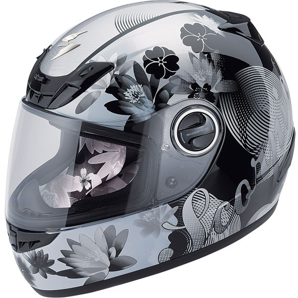 My helmet. Love it! Scorpion Women's EXO400 Lilly Helmet