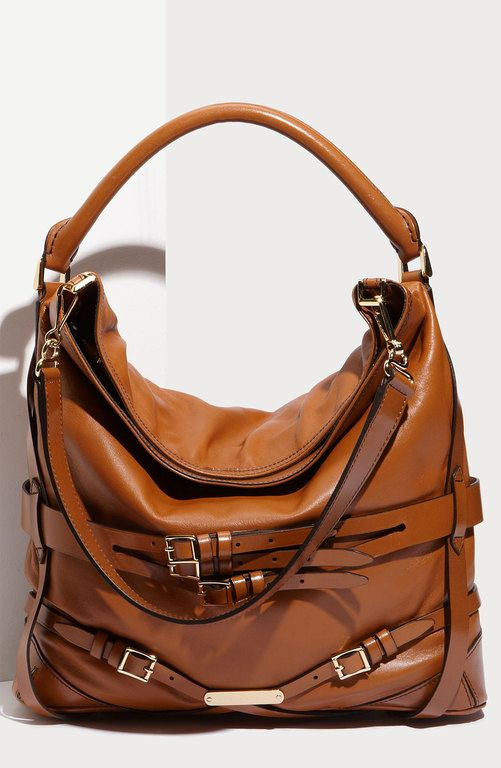 Burberry Belted Lambskin Leather Hobo Purse…. Love!!!'