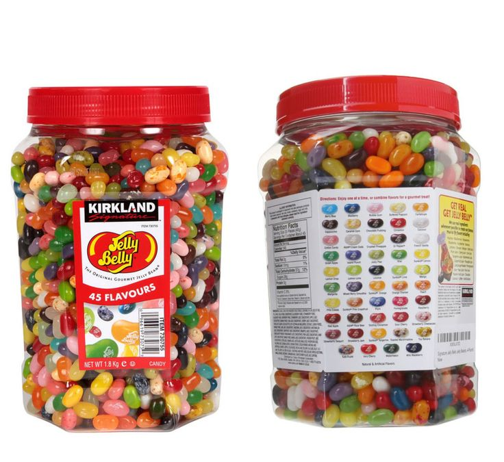 Jelly Belly Gourmet Jelly Beans Sweets 44 Flavours Big Jar