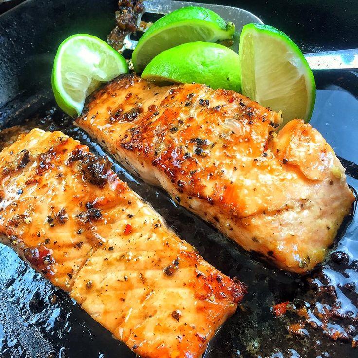 Brown Sugar & Mustard Glazed Salmon | Darius Cooks! | Food is my life. Life is my food!