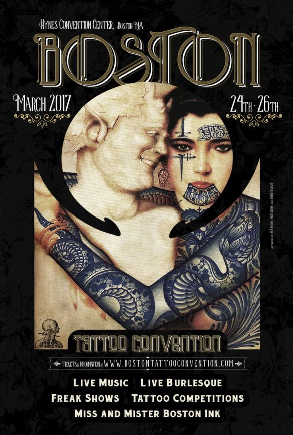 boston tattoo shop at the 2017 boston tattoo convention