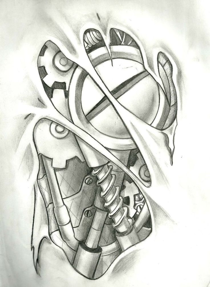 Mechanical Tattoo, Layout in 9 hours of work