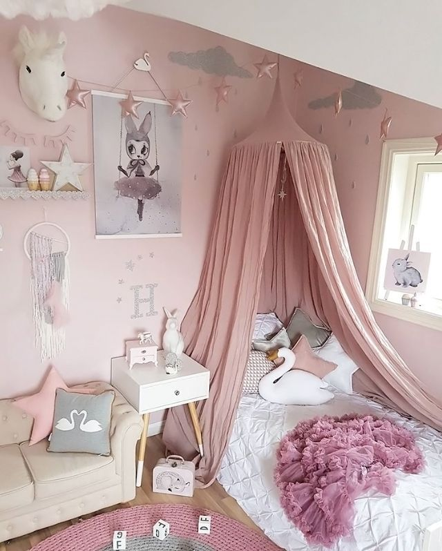Pretty Pink S Room Is