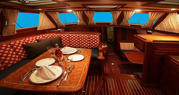 Sail Away Girl Thinks This Sailboat Interior Is WOW! Check