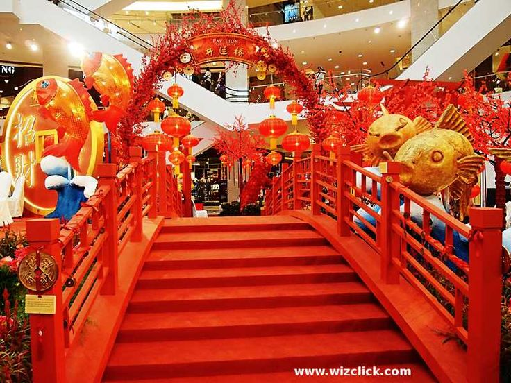 Shopping Mall lunar New Year Decoration 2015 Tìm với