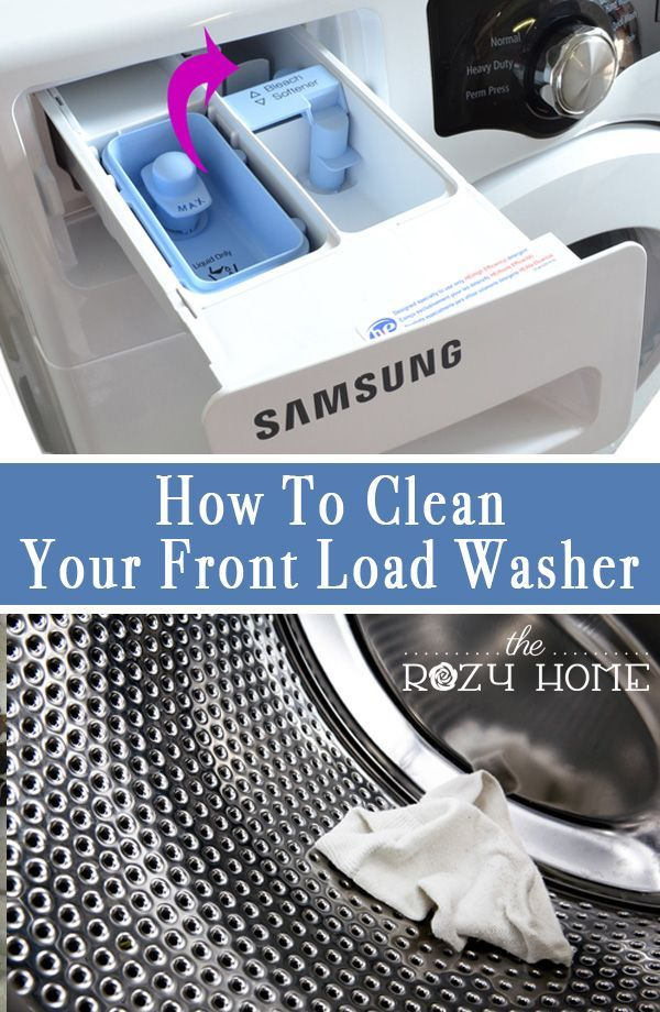 Quick and easy tips for cleaning your front load washer and dryer. All you need is a few basic items and a bit of time to have