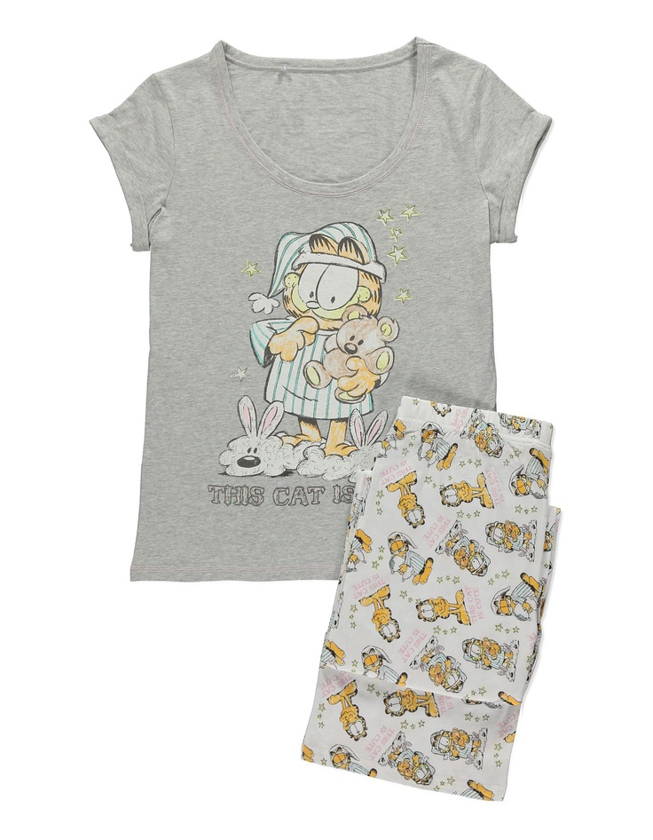 Garfield Pyjamas Women at ASDA License