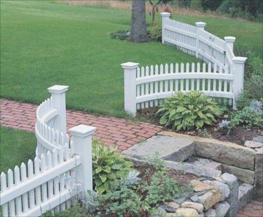 17 Best Ideas About White Picket Fences On Pinterest