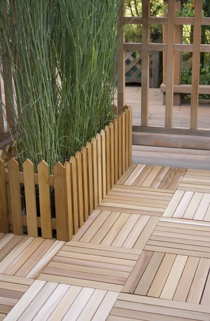 """Deck Tiles """"They can be used over concrete and directly"""