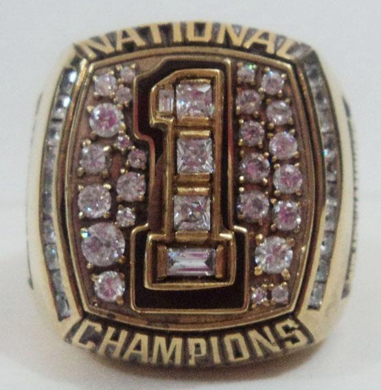 2005 Texas Longhorns Ring NCAA Football Rings