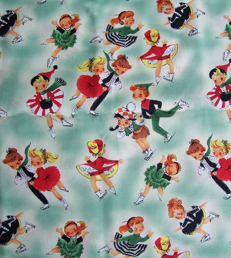 The Gallery For Gt Vintage Christmas Wrapping Paper 1930s