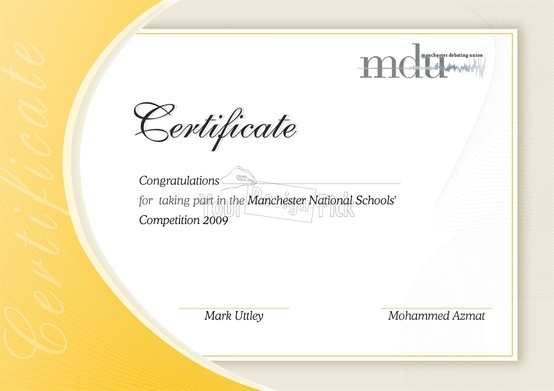 design for mdu from yourdesignpick certificate ideas design