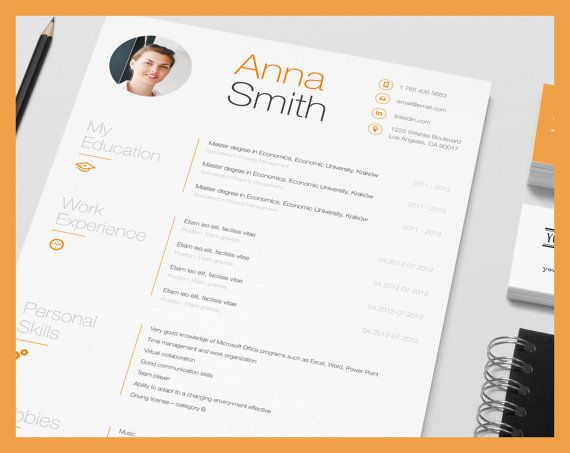 cool resume templates word