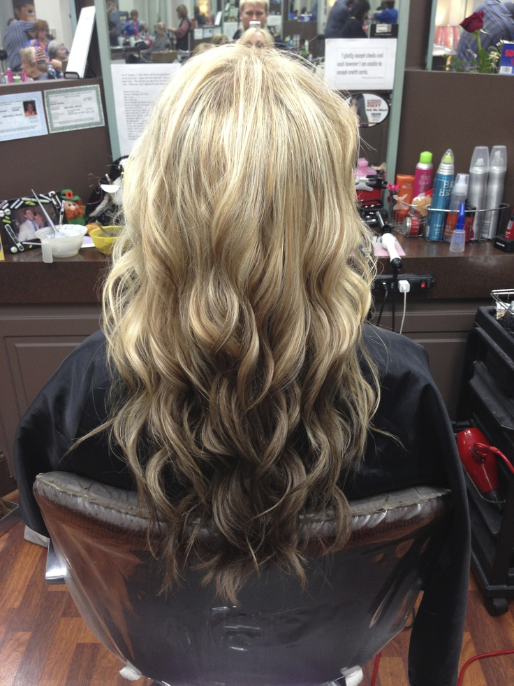 Reverse Ombre Done By Lex Moore Of Panache In Florence SC