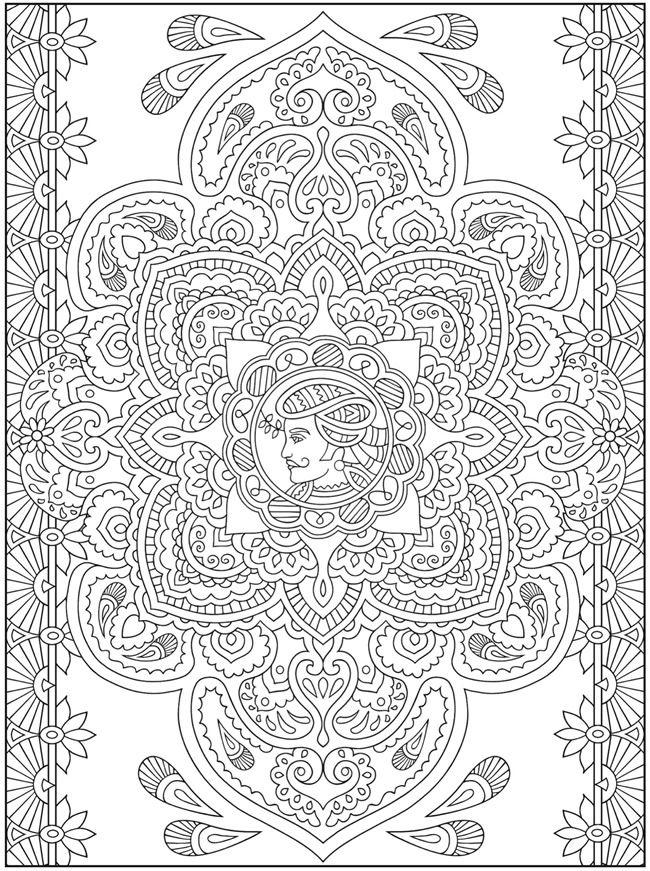 Mehndi Designs Crafts Coloring CULTURES Pinterest