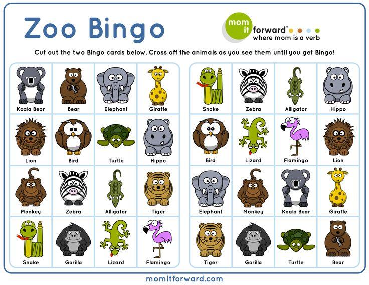 Printable+Farm+Animal+Lotto To download this free Zoo