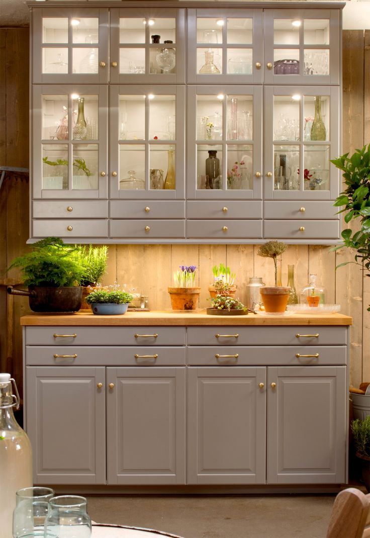 Bodbyn kitchen in grey Our New Home Pinterest Grey