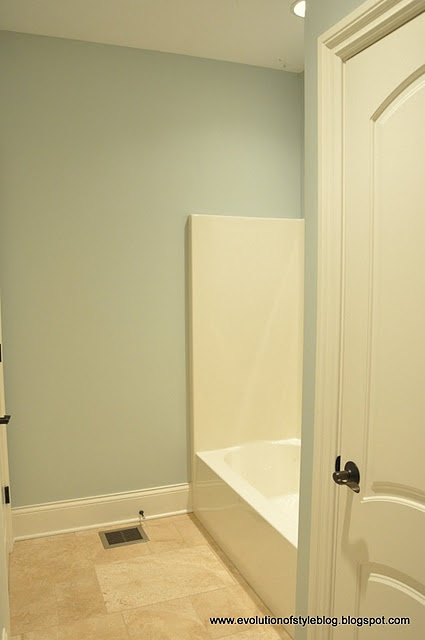 Sea Salt By Sherwin Williams A Pretty Blue Green Color Wall Colors Pinterest Salts