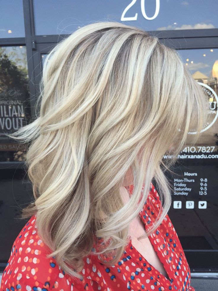 25 Best Ideas About Cool Blonde Highlights On Pinterest