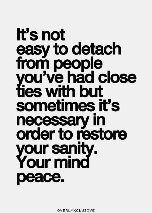 Image result for detach from people you dont trust