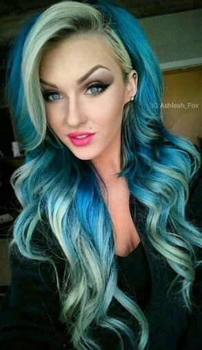 224 Best Images About Two Tone Hair On Pinterest Chunky