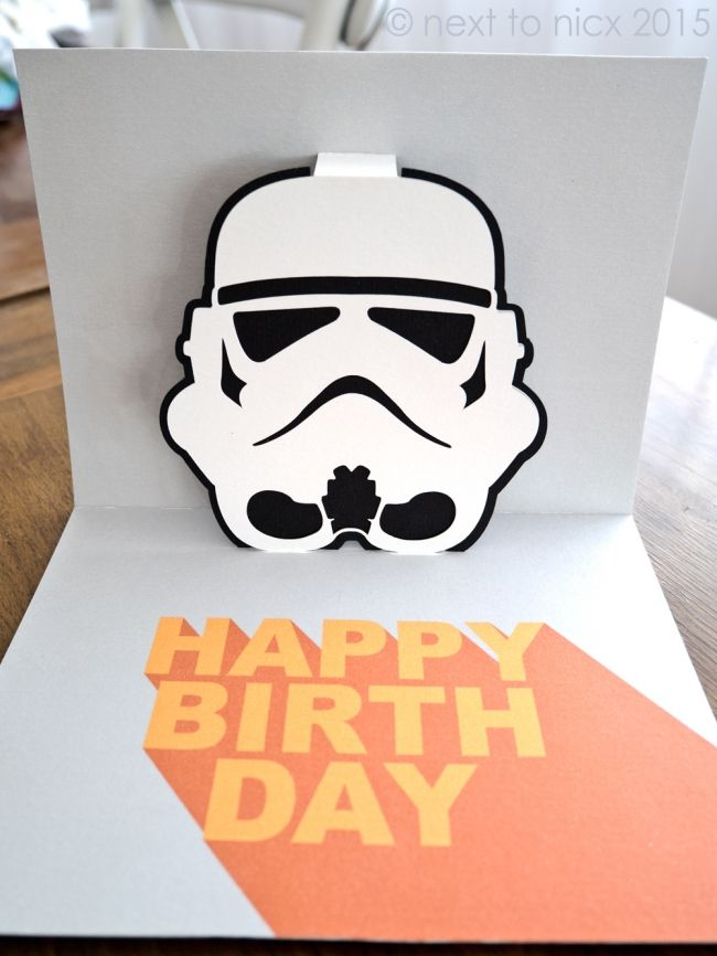 Stormtrooper Pop Up Card Free SVG PDF And JPG Files