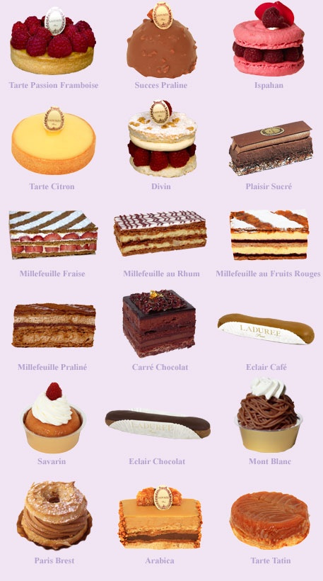 Laduree CAKES & PASTRIES Laduree Paris Pinterest