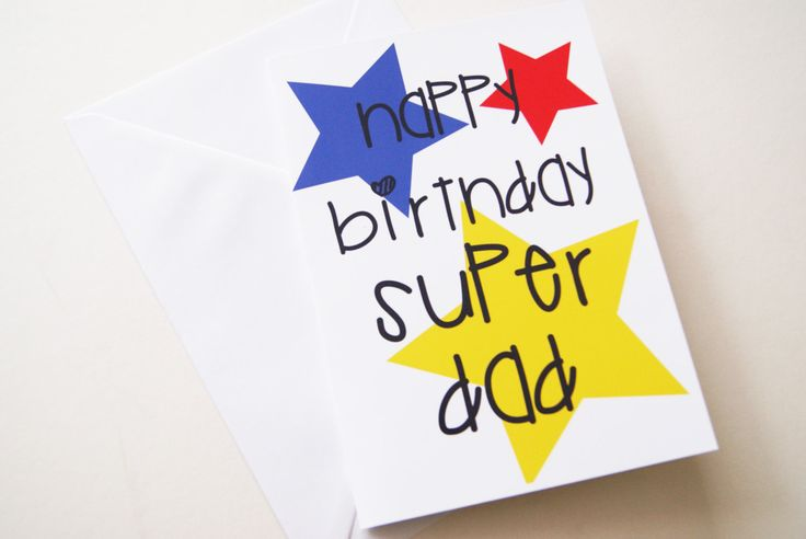 Happy birthday cards for dad happy birthday super dad dads birthday card card from kids to bookmarktalkfo Image collections