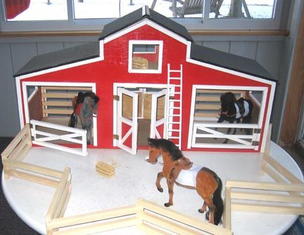 Horse Stable Woodworking Plan Kids Pinterest Stables