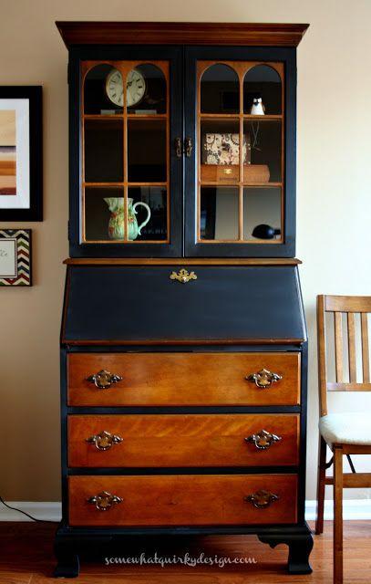 Best 25 Painted Secretary Desks Ideas On Pinterest