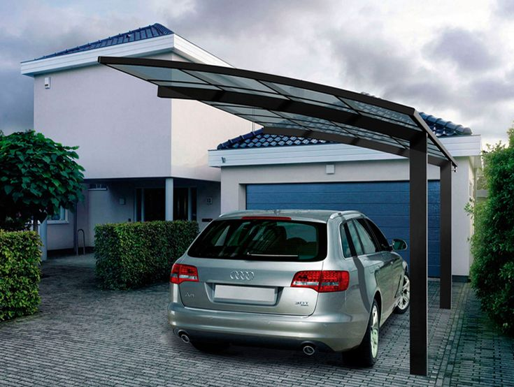 Strong And Durable Aluminum Car Parking Shade Metal Frame