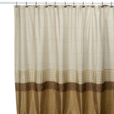 KAS Romana 54 Inch W X 78 Inch L Stall Fabric Shower Curtain Bathroom