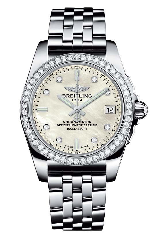 Image result for breitling galactic 32 diamond white background