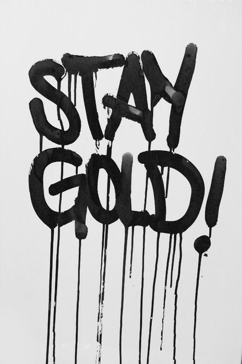 stay gold the outsiders novel saying quotes quote things i love sayings novel mo