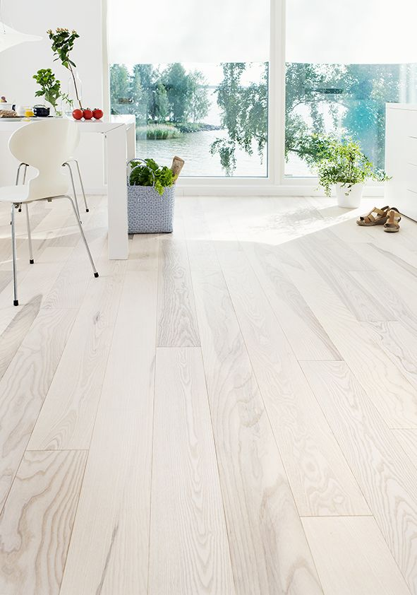 Personal And White Colored Ash Floor Ash Parquet Olive Sanded White Hard Wax Oiled