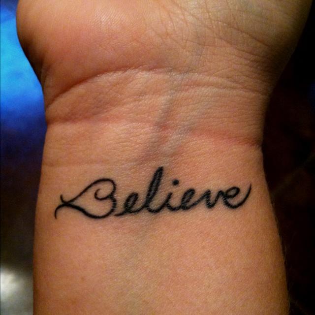 Wrist tattoo If I decide to get a tattoo someday