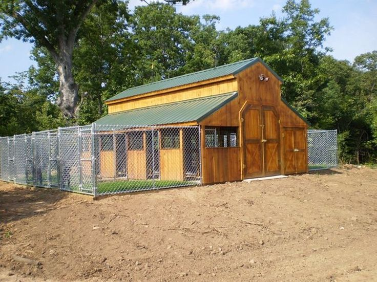 I Love The Idea Of Turning A Big Barn Into A Dog Kennel