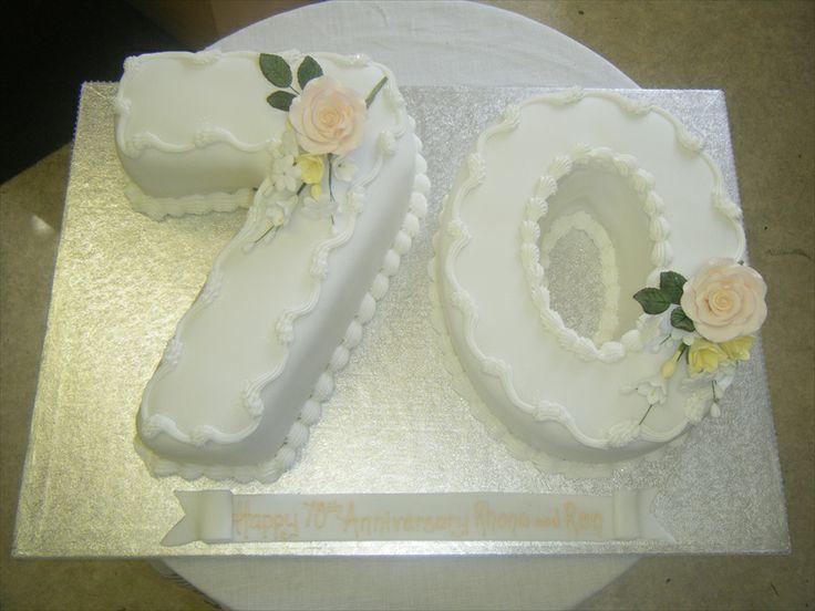 70th-anniversary-cake