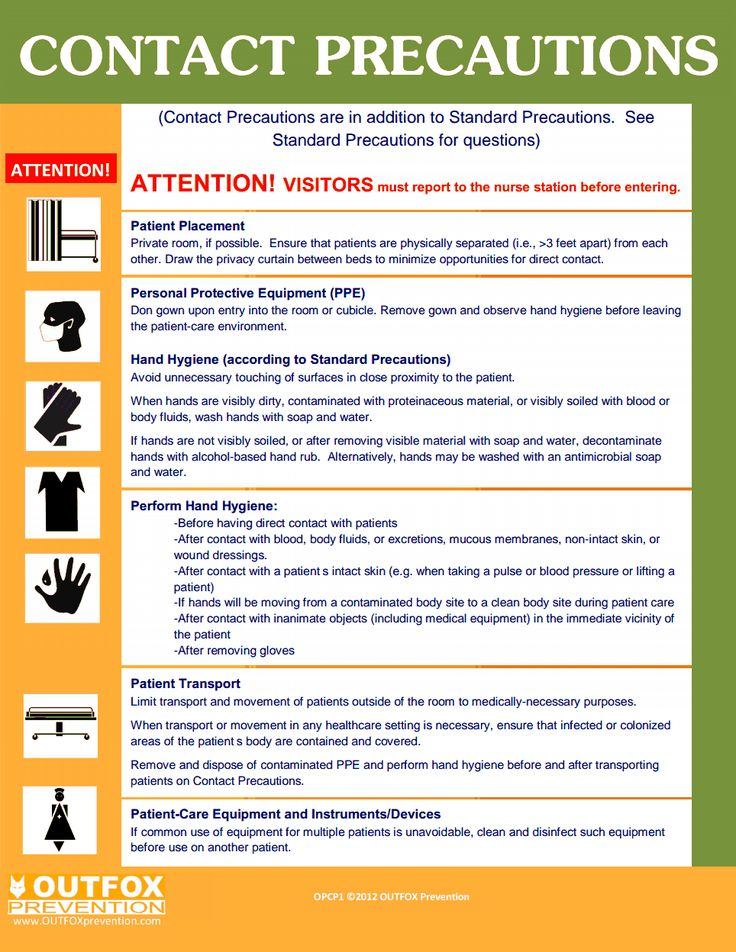 OUTFOX CDC Contact Precautions.pdf Everything Nursing