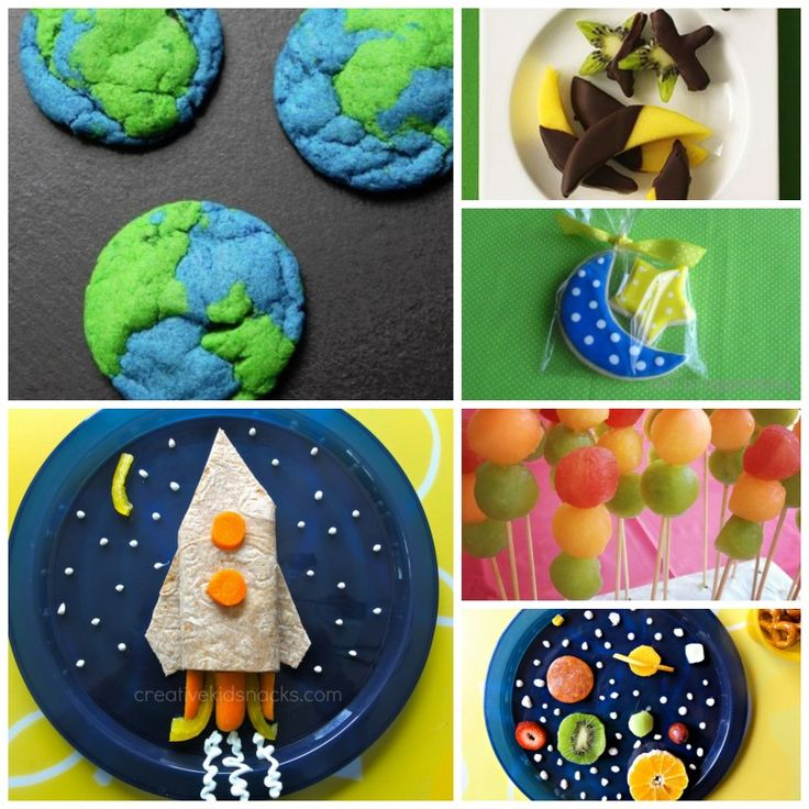 Space Themed Party Food Kids Food Pinterest Solar