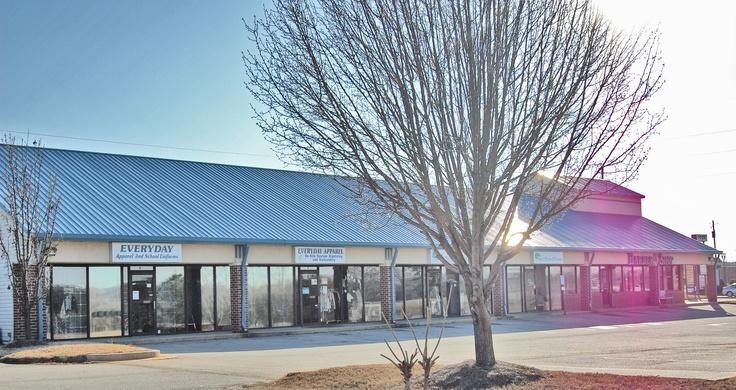A shopping center near McDonough, built by Doug