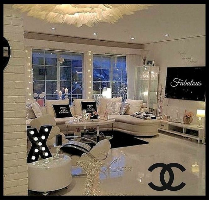 A Chanel Inspired Beauty Room