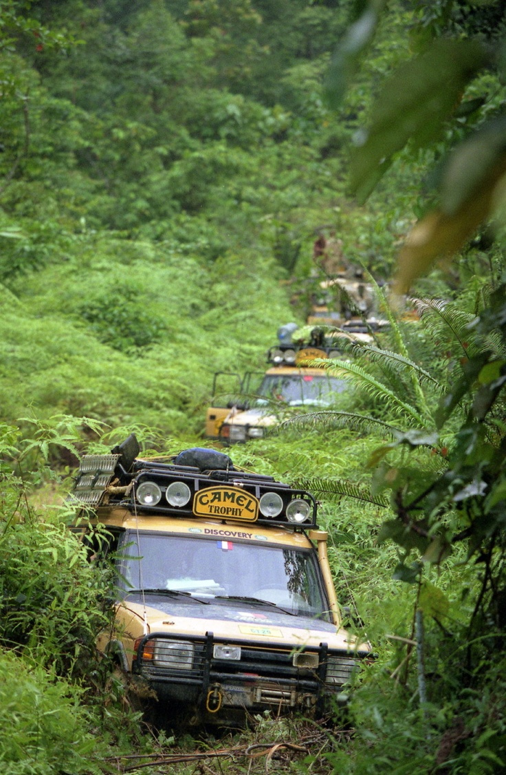 CAMEL TROPHY 1996 KALIMANTAN, DISCOVERY 1 Land Rover