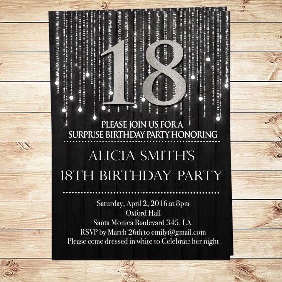 1000 Ideas About 21st Birthday Invitations On Pinterest 60th Birthday Invitations 50th
