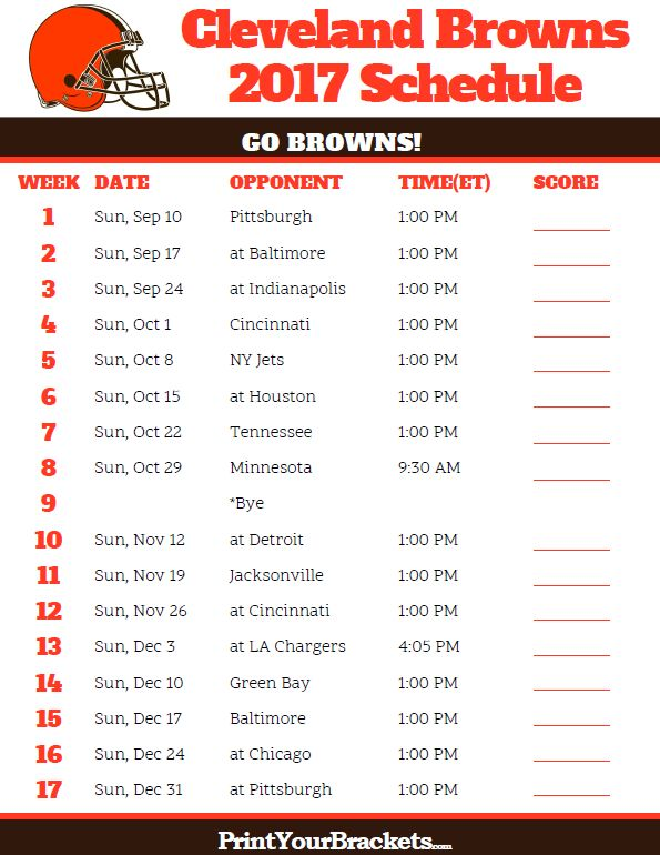 99 Best Printable NFL Schedules Images On Pinterest