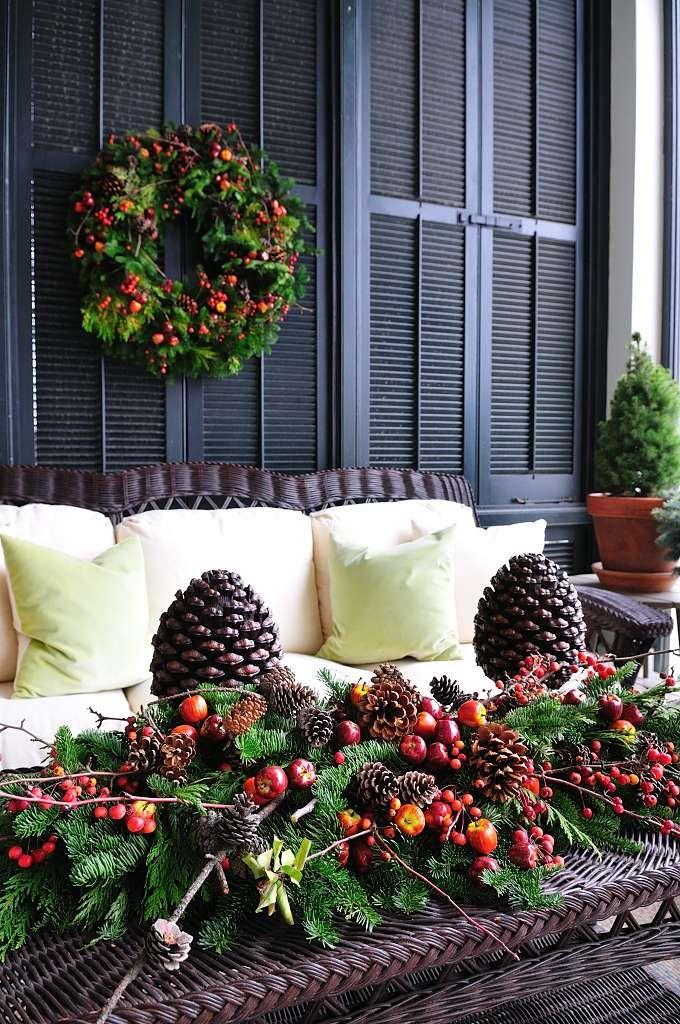 Holiday Decorating Ideas Greenery Holiday Ideas